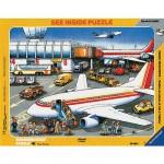 Puzzle 41 pièces - L'aéroport