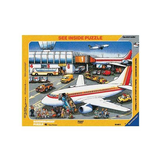Puzzle 41 pièces - L'aéroport - Ravensburger-06669