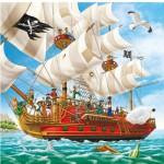 Puzzle 49 pièces - L'aventure des pirates