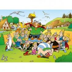 Puzzle 500 pièces - Astérix et Obélix : Astérix au village