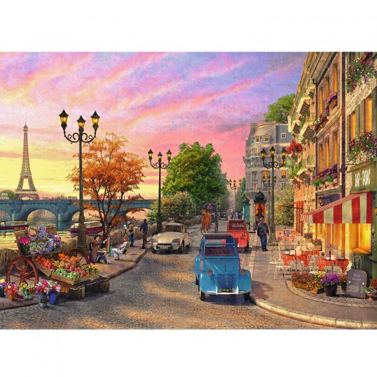 Puzzle 500 pièces : A Paris Evening - Ravensburger-14505