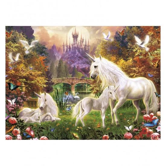 Puzzle 500 pièces : Bienvenue dans le monde des licornes - Ravensburger-14195