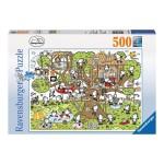 Puzzle 500 pièces : Cabane dans l'arbre, Sheepworld