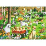 Puzzle 500 pièces : Chiens au parc