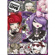 Puzzle 500 pièces : Kimidoll Love