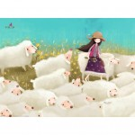 Puzzle 500 pièces : Kori Kumi : Buttercup Meadow