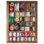 Puzzle 500 pièces : La boîte à couture