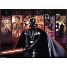 Puzzle 500 pièces : La saga Star Wars