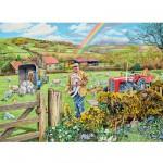 Puzzle 500 pièces : Le fermier