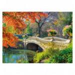 Puzzle 500 pièces : Pont romantique