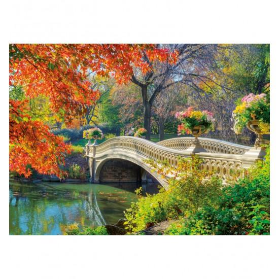 Puzzle 500 pièces : Pont romantique - Ravensburger-14231