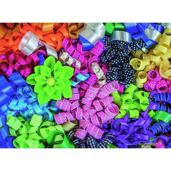 Puzzle 500 pièces : Rubans colorés - Ravensburger-14691