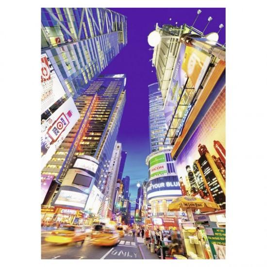 Puzzle 500 pièces : Times Square éclairé - Ravensburger-14648
