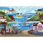 Puzzle 500 pièces - Bord de mer
