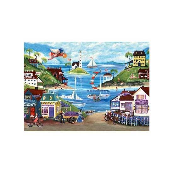 Puzzle 500 pièces - Bord de mer - Ravensburger-14125