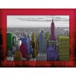 Puzzle 500 pièces Complete Puzzle Set : Couleurs de New York