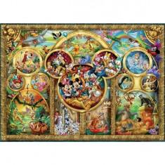 Puzzle 500 pièces - Famille Disney