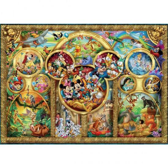 Puzzle 500 pièces - Famille Disney - Ravensburger-14183