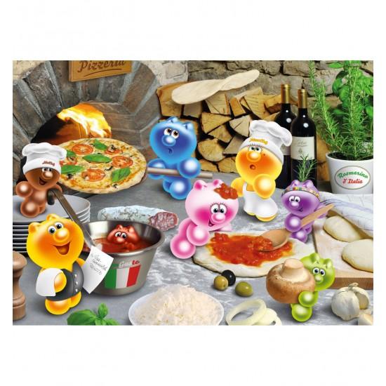 Puzzle 500 pièces Gelini : A la pizzeria - Ravensburger-14251