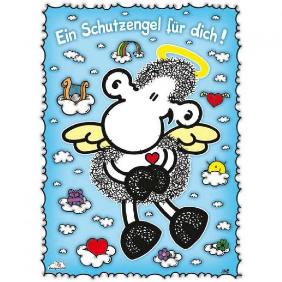 Puzzle 500 pièces - Sheepworld : Ange protecteur - Ravensburger-14514