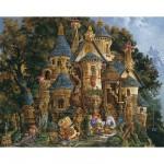 Puzzle 500 pièces - L'école de magie