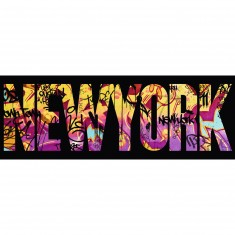 Puzzle 500 pièces panoramique : New-York Graffiti
