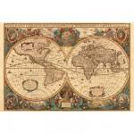 Puzzle 5000 pièces - Mappemonde antique