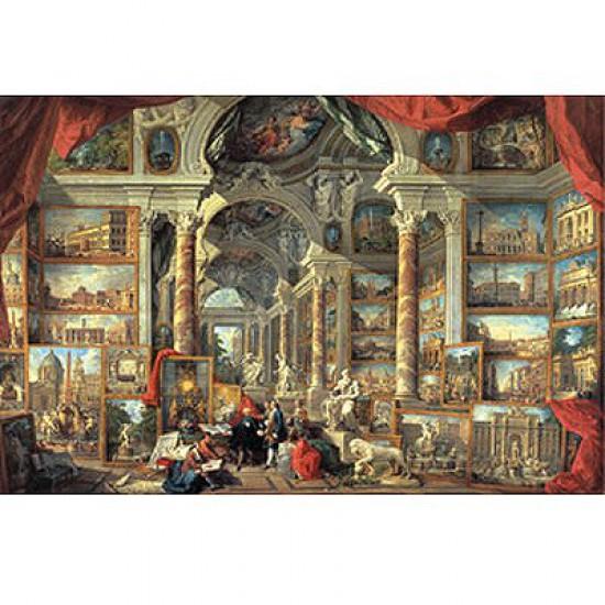 Puzzle 5000 pièces - Panini : Vues de la Rome Moderne - Ravensburger-17409