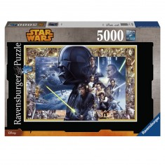 Puzzle 5000 pièces XXL : Saga Star Wars