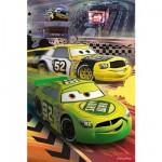 Puzzle 54 pièces : Mini puzzle Cars : Redoutables concurrents
