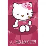 Puzzle 54 pièces : Mini puzzle Hello Kitty : Clin d'oeil