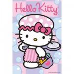 Puzzle 54 pièces : Mini puzzle Hello Kitty : En route pour le bain
