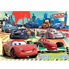 Puzzle 60 pièces géant - Cars 2 : World grand prix