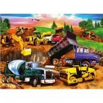 Puzzle 60 pièces - Chantier de construction