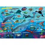 Puzzle 60 pièces : Royaume sous-marin