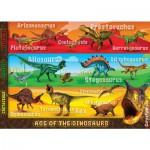 Puzzle 60 pièces géant : Les dinosaures