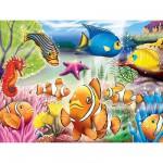 Puzzle 60 pièces - Sous la mer