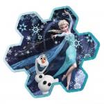 Puzzle 73 pièces : Le flocon de neige d'Elsa