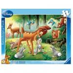 Puzzle cadre - 8 pièces : Bambi
