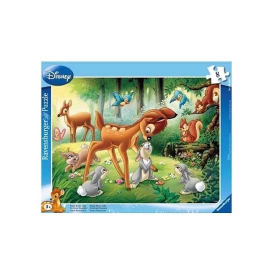 Puzzle cadre - 8 pièces : Bambi - Ravensburger-06003