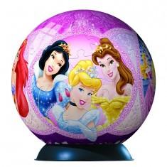 Puzzle ball 108 pièces - Princesses Disney