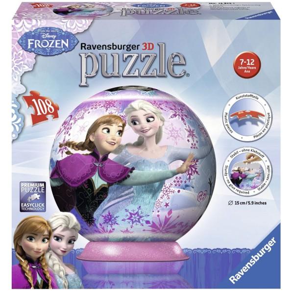 puzzle ball 108 pi ces la reine des neiges frozen jeux et jouets ravensburger avenue des. Black Bedroom Furniture Sets. Home Design Ideas