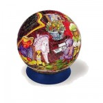 Puzzle Ball 240 pièces - La famille ours