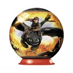Puzzle Ball 3D 108 pièces : Dragons