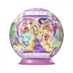 Puzzle Ball 3D 108 pièces : Princesses Disney : Palace Pets