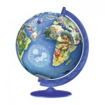 Puzzle Ball 3D 180 pièces : Disney Globe