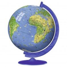 Puzzle Ball 3D 180 pièces : Mappemonde