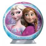 Puzzle Ball 3D 54 pièces : La Reine des Neiges (Frozen) : Les Deux Soeurs
