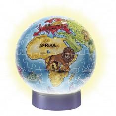 Puzzle Ball 3D 72 pièces : Globe