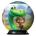 Puzzle Ball 3D 72 pièces : Le Voyage d'Arlo